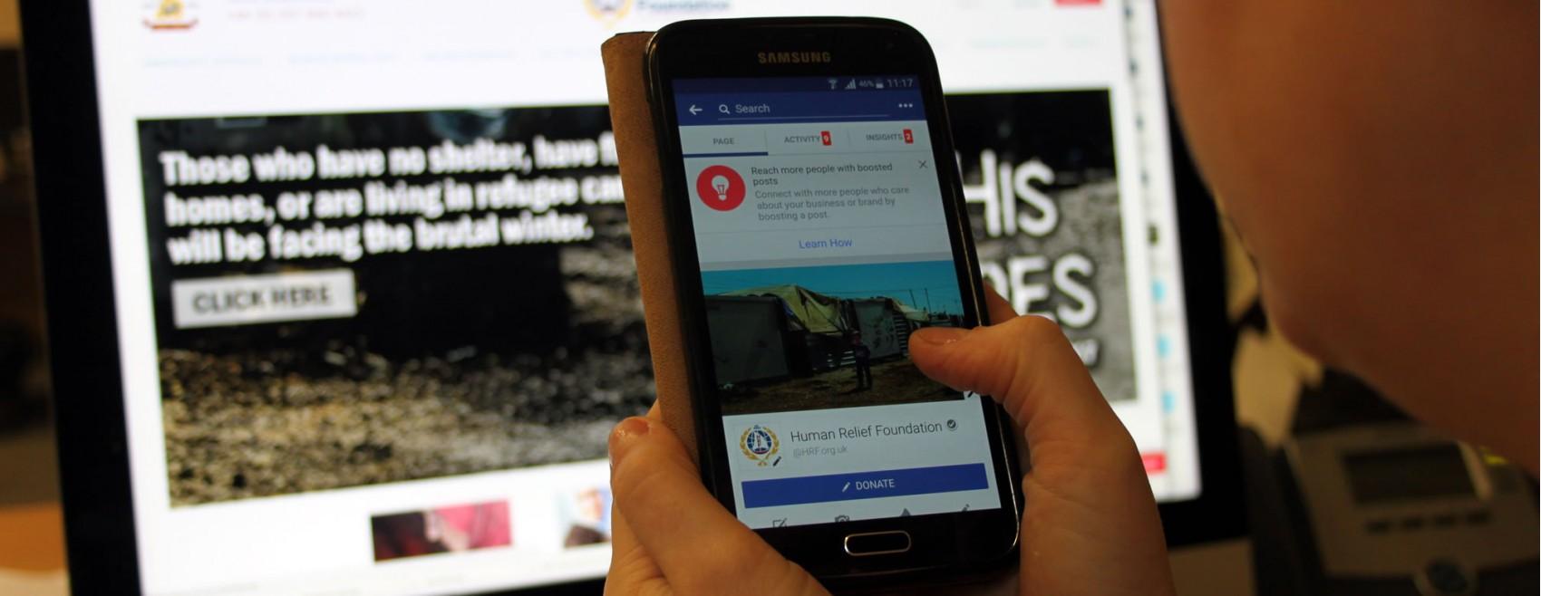 Social media Human Relief Foundation