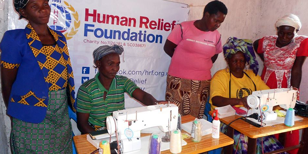 International Woman's Day Human Relief Foundation
