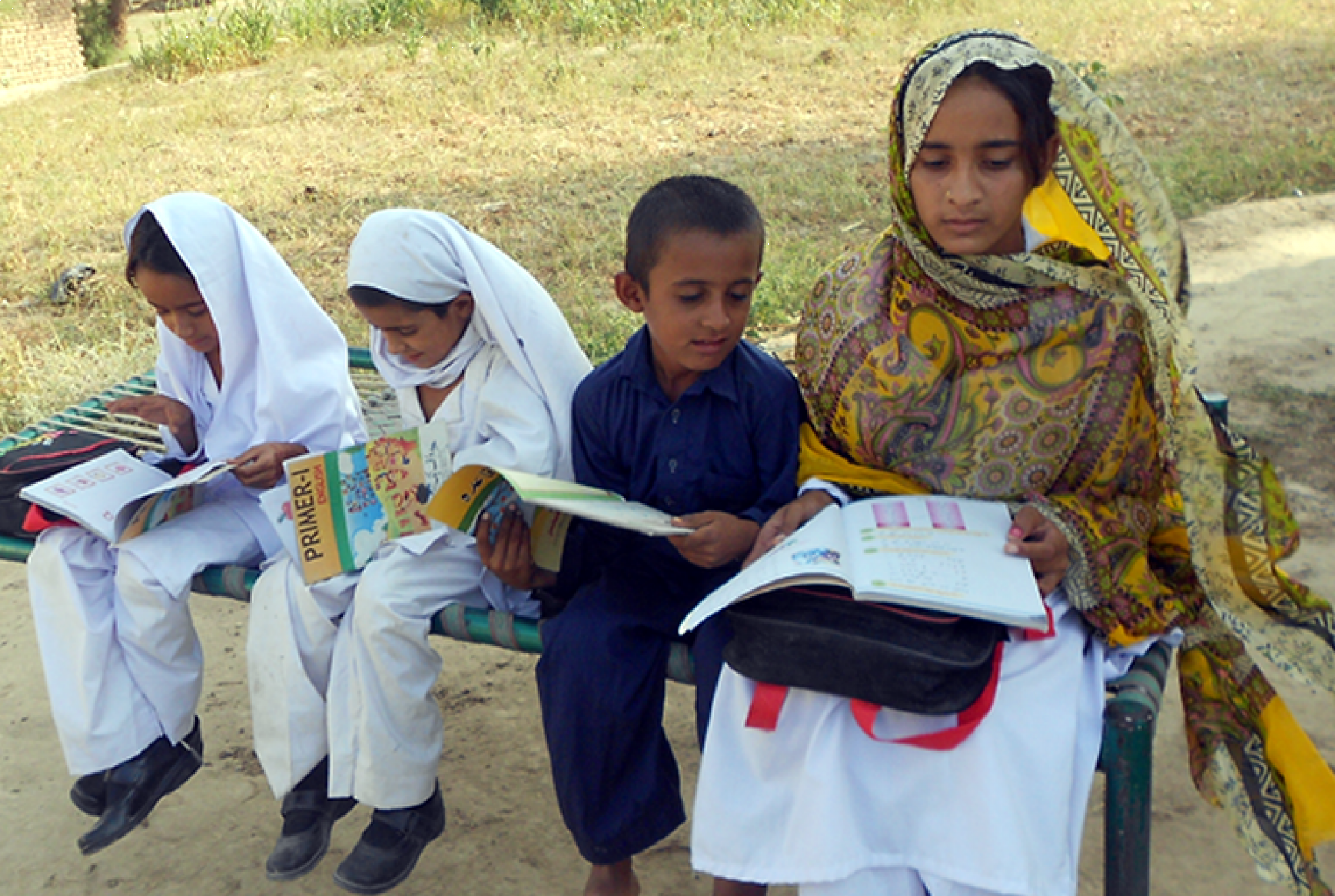 Children benefit from HRF's Iqra Project - Pakistan