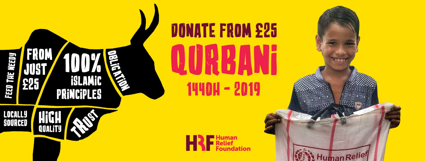 Qurbani | Donate to Our Qurbani Appeal Today - HRF